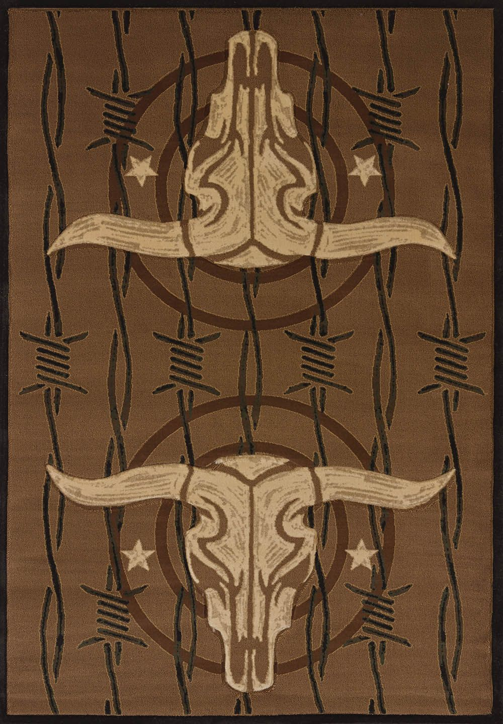 united weavers contours-dcbw cowboy strong southwestern/lodge area rug collection