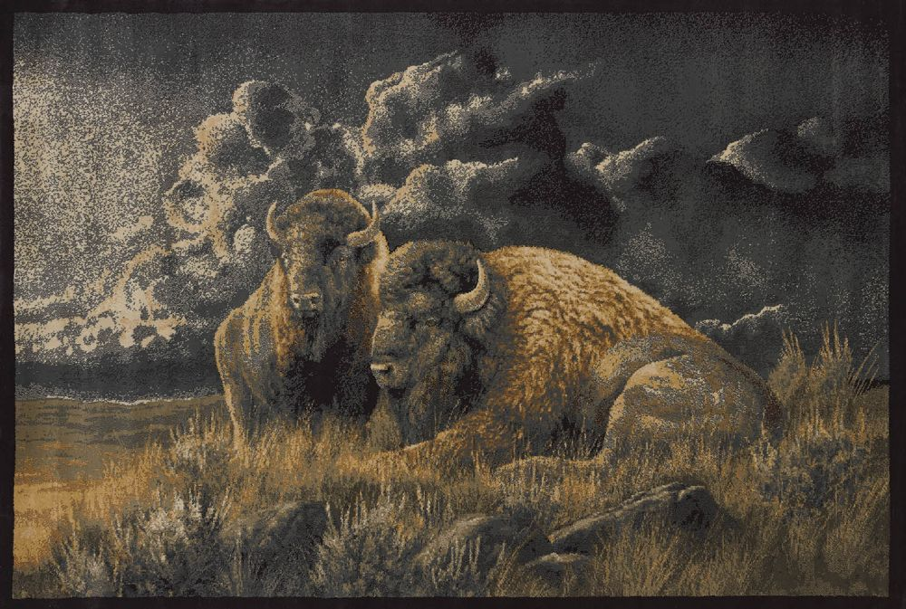 united weavers ww lic des genesis rm distant thunder southwestern/lodge area rug collection