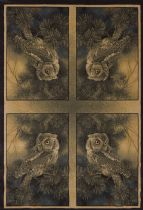 United Weavers Animal Inspirations Ww Lic Des Genesis Rm Screech Owl Nature Area Rug Collection