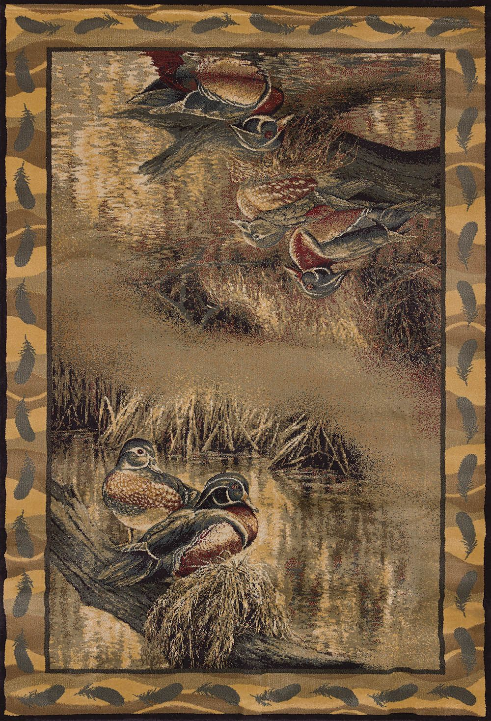 united weavers ww lic des genesis rm backwaters southwestern/lodge area rug collection