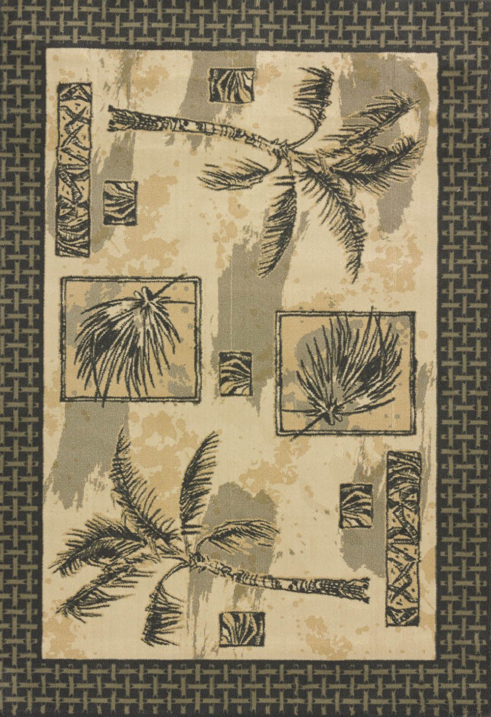 united weavers jq designer genesis jq palm breeze natur southwestern/lodge area rug collection