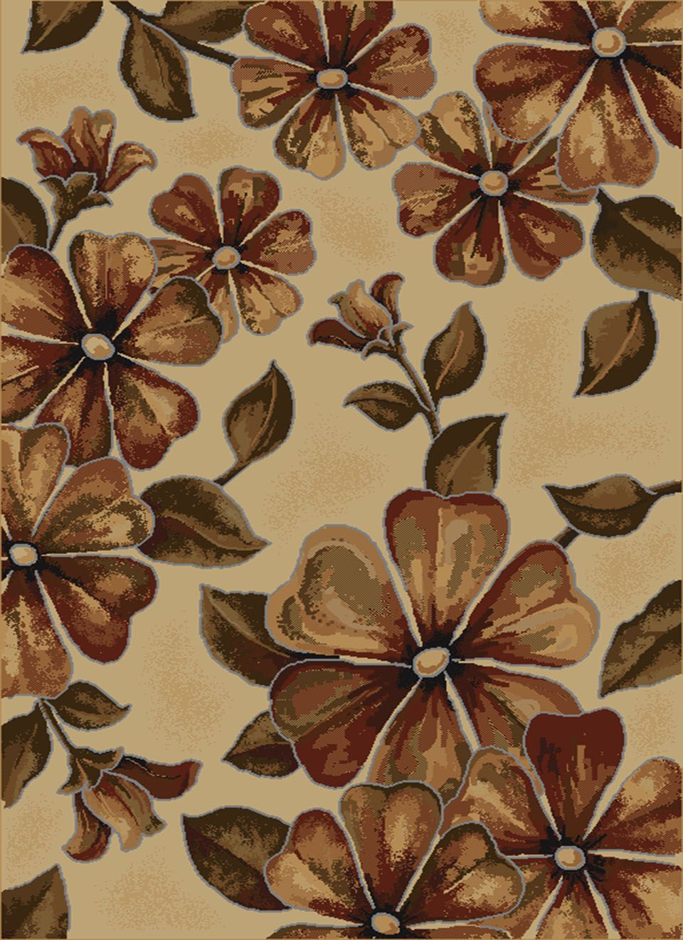 united weavers china garden bloom southwestern/lodge area rug collection