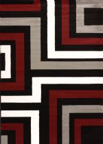 United Weavers Contemporary Cristall Collection Blade Area Rug Collection