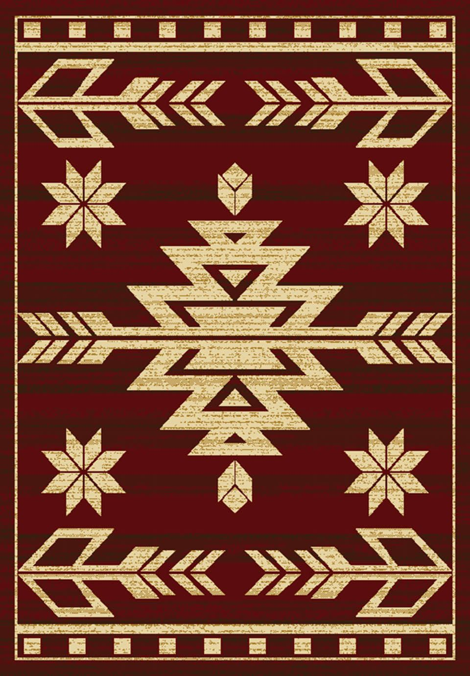 united weavers affinity teton southwestern/lodge area rug collection