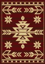 United Weavers Southwestern/Lodge Affinity Teton Area Rug Collection