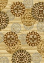 United Weavers Contemporary Affinity Sundial Area Rug Collection