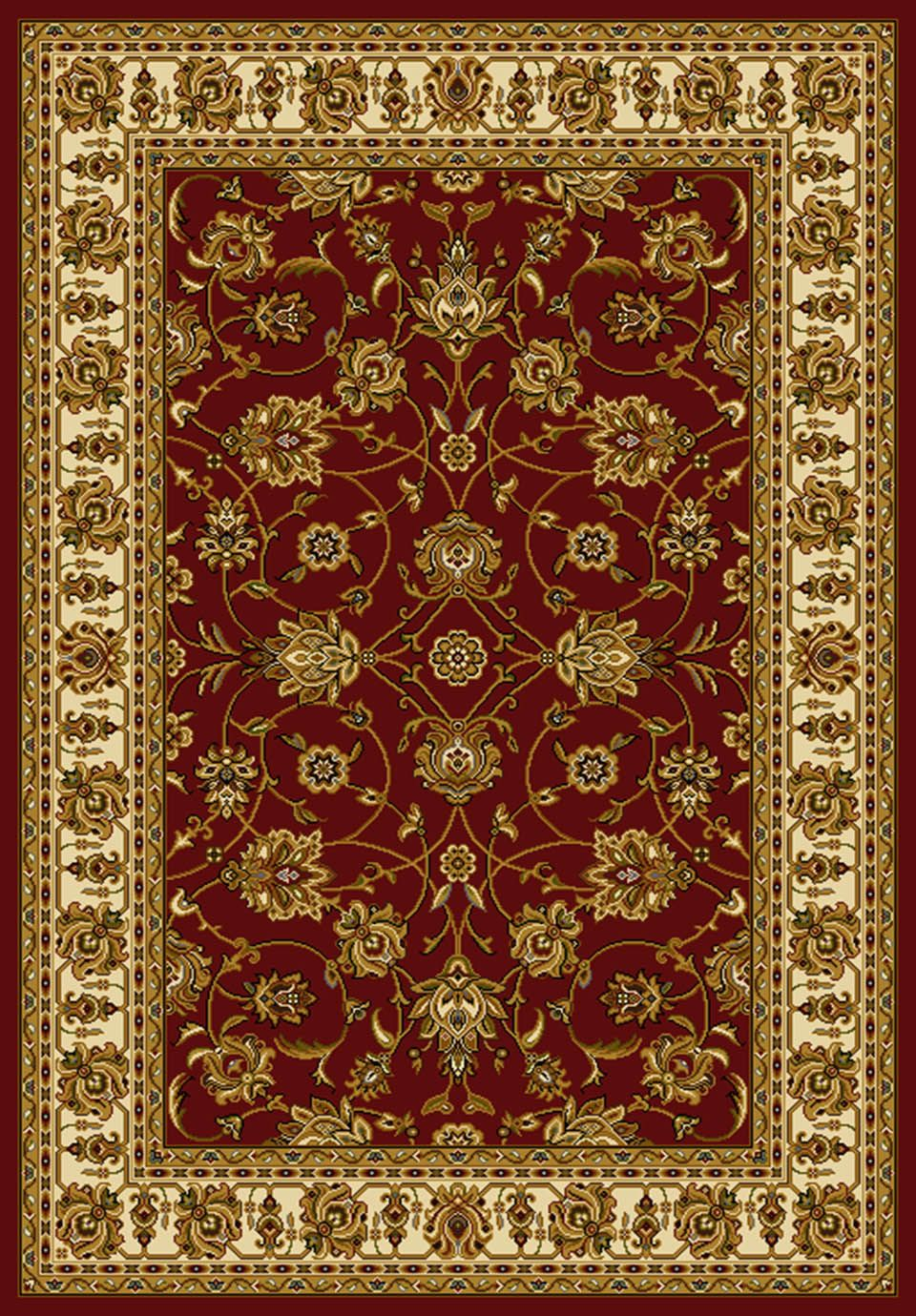 united weavers affinity reza traditional area rug collection