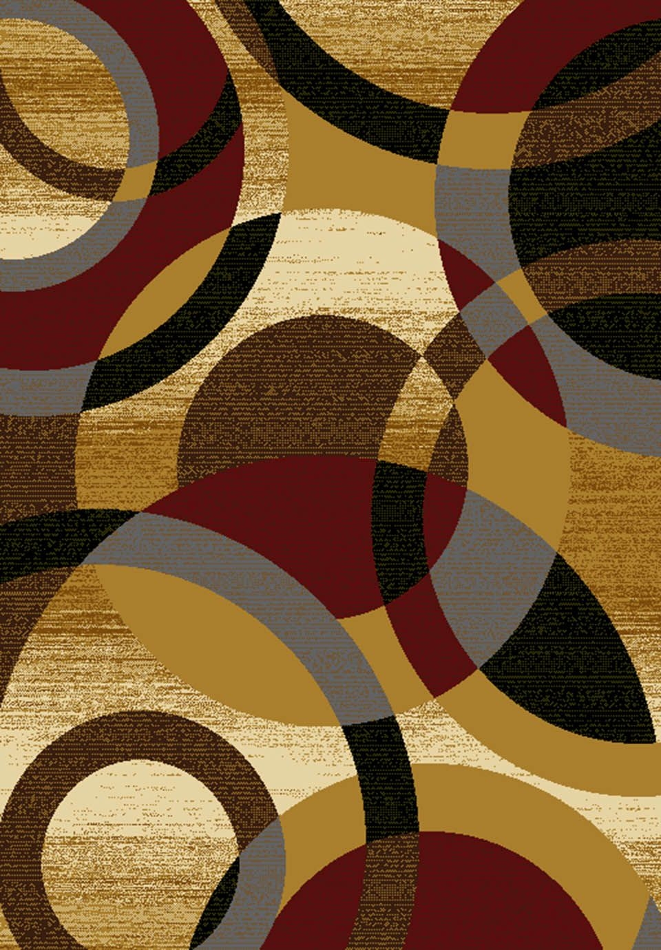 united weavers affinity ricochet contemporary area rug collection