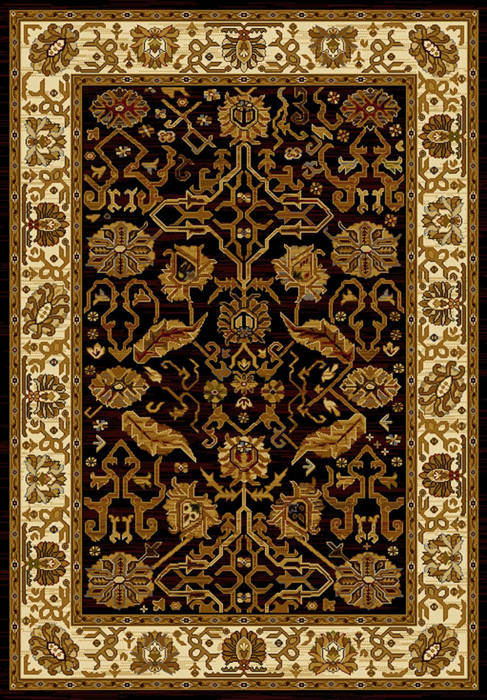 united weavers affinity persian canvas traditional area rug collection