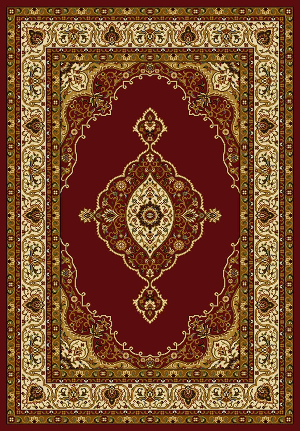 united weavers affinity pervana traditional area rug collection