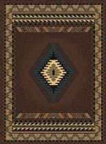 Runner rug, Machine Made rug, Southwestern/Lodge, Manhattan Tucson, United Weavers rug