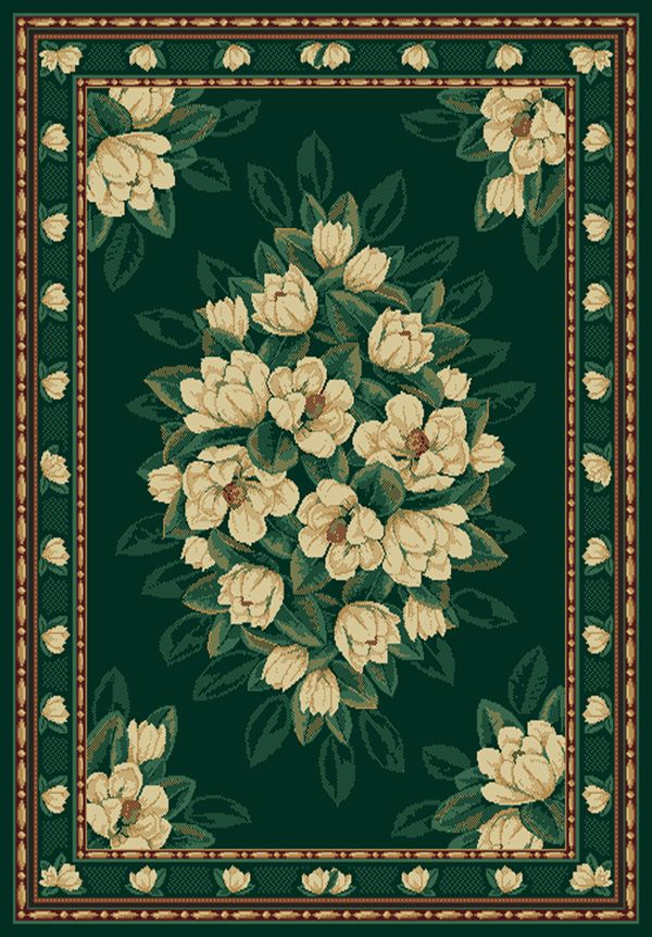united weavers manhattan magnolia country & floral area rug collection