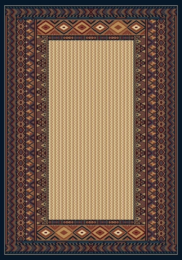 united weavers manhattan montauk southwestern/lodge area rug collection