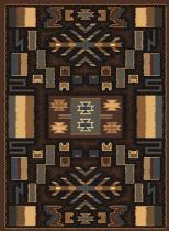 United Weavers Southwestern/Lodge Manhattan Pelham Area Rug Collection