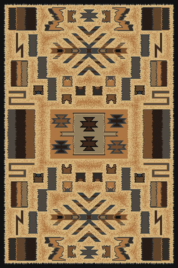 united weavers manhattan pelham southwestern/lodge area rug collection