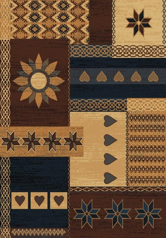 united weavers manhattan gramercy southwestern/lodge area rug collection