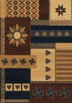 United Weavers Southwestern/Lodge Manhattan Gramercy Area Rug Collection