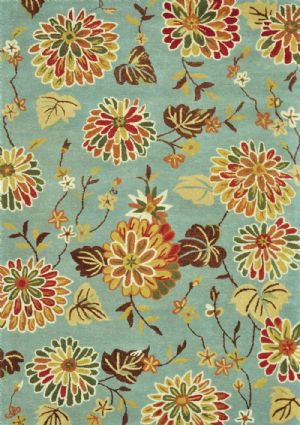 Loloi Country & Floral Dahlia Area Rug Collection