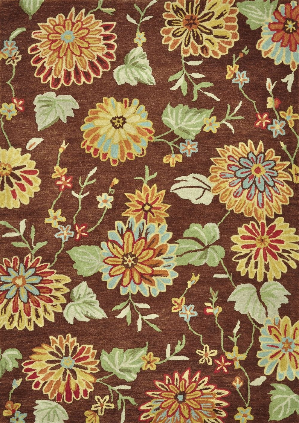 loloi dahlia country & floral area rug collection