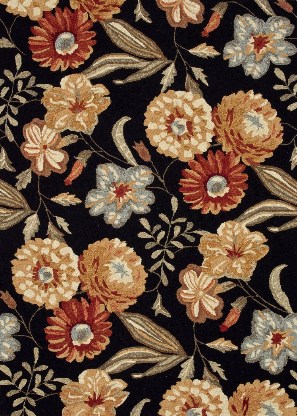 loloi francesca country & floral area rug collection