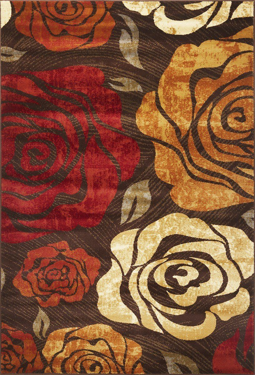kas lifestyles country & floral area rug collection
